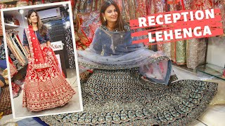 Chandni Chowk Lehenga Shop  | Budget Lehenga For Reception | Delhi Shopping | DesiGirl Traveller