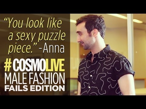 #CosmoLive: Male Fashion Fails Edition