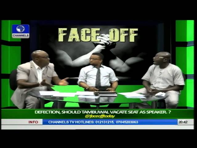 Face Off: Should Tambuwal Vacate Seat As Speaker? Pt 3