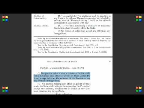 Indian Constitution Indian Constitution Video 24