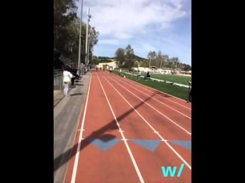 Do the 40-yard dash w/Terrell Owens