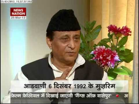 News Nation exclusive with Azam Khan (March 25, 2013)- Part 1
