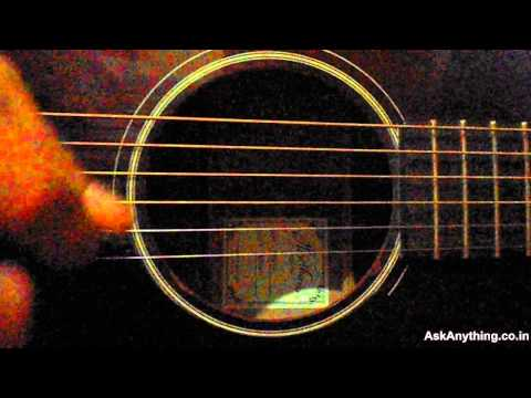 Guitar Tutorial For Aadat (Atif & Jal) by-Lokesh