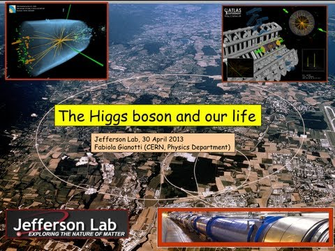 The Higgs Boson and Our Life