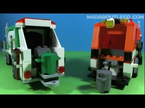 LEGO GARBAGE TRUCK 4432