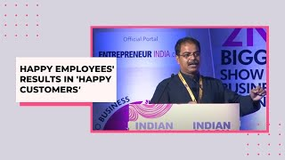 Happy employees results in  Happy