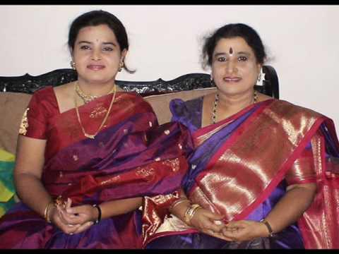 Vocal Duet-dr.nagavalli Nagaraj & Ranjani Nagaraj-giri Raja-tyagaraja Kriti video