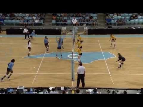 UNC Volleyball: Highlights vs. West Virginia