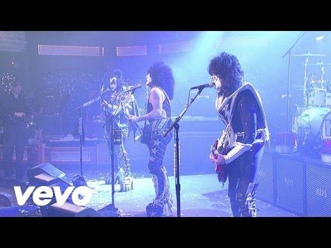 KISS - Shout It Out Loud (Live @ Letterman, 2012)