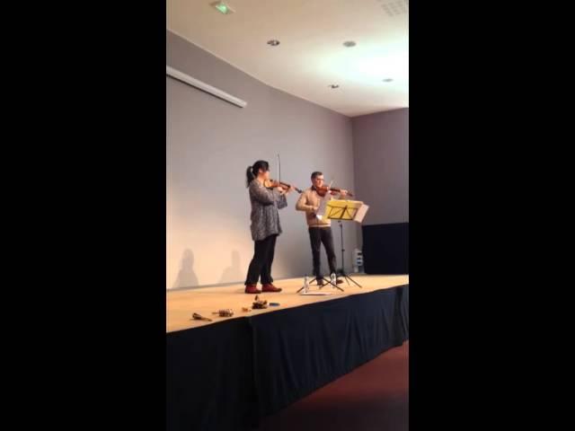 Duos de violons - Les Musiciens du Louvre Grenoble