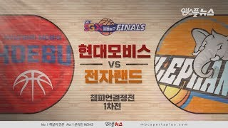 【HIGHLIGHTS】 Phoebus vs Elephants  | 20190413 | 2018-19 KBL