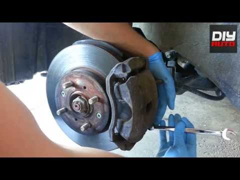 HOW TO CHANGE / REPLACE BRAKES    HONDA CIVIC & ACURA EL