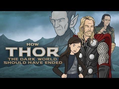 Как должен был закончиться Тор 2: Царство тьмы