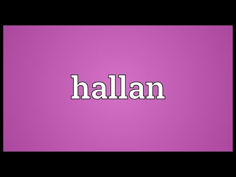 Header of hallan