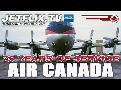Happy 75th Birthday Air Canada - A Visual History the people the planes
