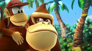 Donkey Kong Country Returns - All Bosses (Mirror Mode)