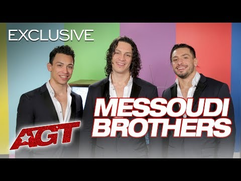 The Messoudi Brothers Did A Handstand ON Terry Crews?! - America's Got Talent 2019