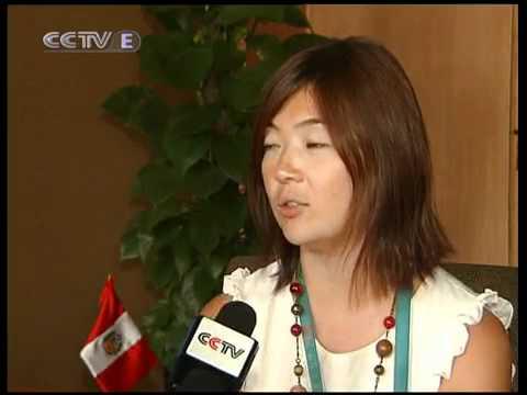 Chinos disfrutan del pabellón de Perú en Expo Mundial de Shanghai (tv china)