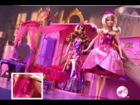 Real Brinquedos - Barbie Escola de Princesas - Quarto Mágico - Mattel