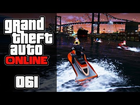 GTA ONLINE [HD+] #061 - Blödes Bräsiges Bootsrennen ★ Let's Play GTA Online
