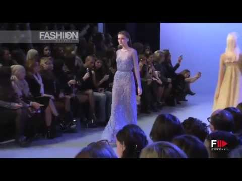 """ELIE SAAB"" Full Show Spring Summer 2014 Haute Couture Paris by Fashion Channel"