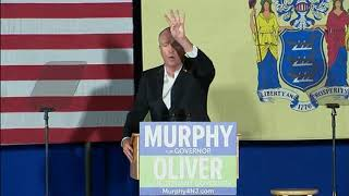 FULL RAW: Barack Obama returns to campaign trail with Dem New Jersey gubernatorial nom Phil Murphy