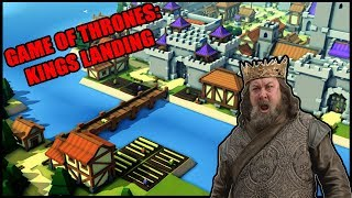 Building KINGS LANDING and THE RED KEEP in Kingdoms and Castles Medieval City Builder