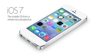 Official iOS 7 - The mobile OS from a whole new perspective Trailer