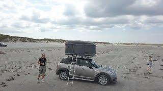 Mini Countryman with Autohome tent   Tiny Home on wheels