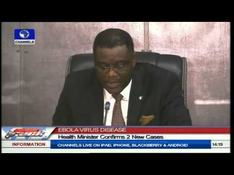 Ebola Virus Disease: Health Minister Confirms 2 New Cases