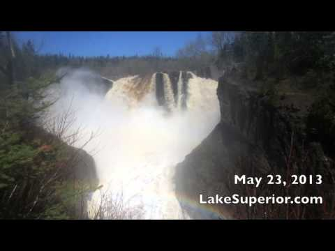 Minnesota High Falls 5-23-2013