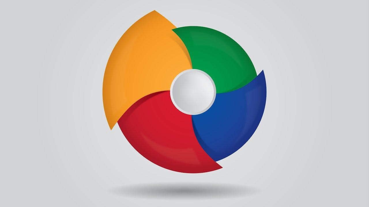 Infographic tutorial illustrator logos tutorial