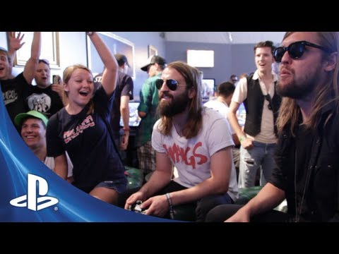Band Of Skulls and PlayStation @ Lollapalooza 2012