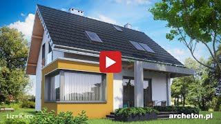 Projekty domów od 100 do 130 m2