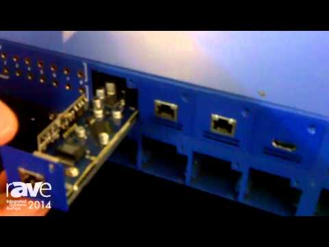 ISE 2014: HD Connectivity Shows Its 8×8 Modular System