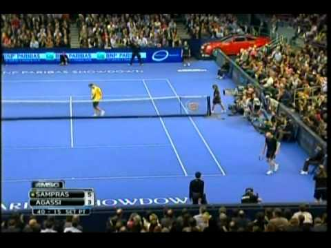 2011 PETE SAMPRAS def. ANDRE AGASSI Madison Square Garden