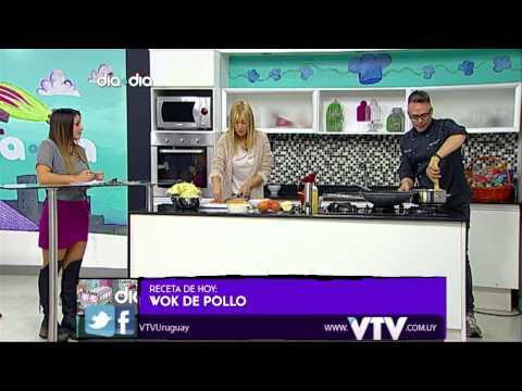 VTV: MICRO MARIO PADRON Y PATRICIA FIERRO - WOK DE POLLO EN DIA A DIA
