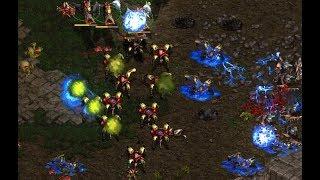 Bisu (P) v Larva (Z) on Fighting Spirit - StarCraft  - Brood War REMASTERED