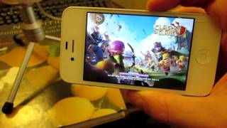 Iphone 4 is Garbage  |  Impossible to play Clash of Clans