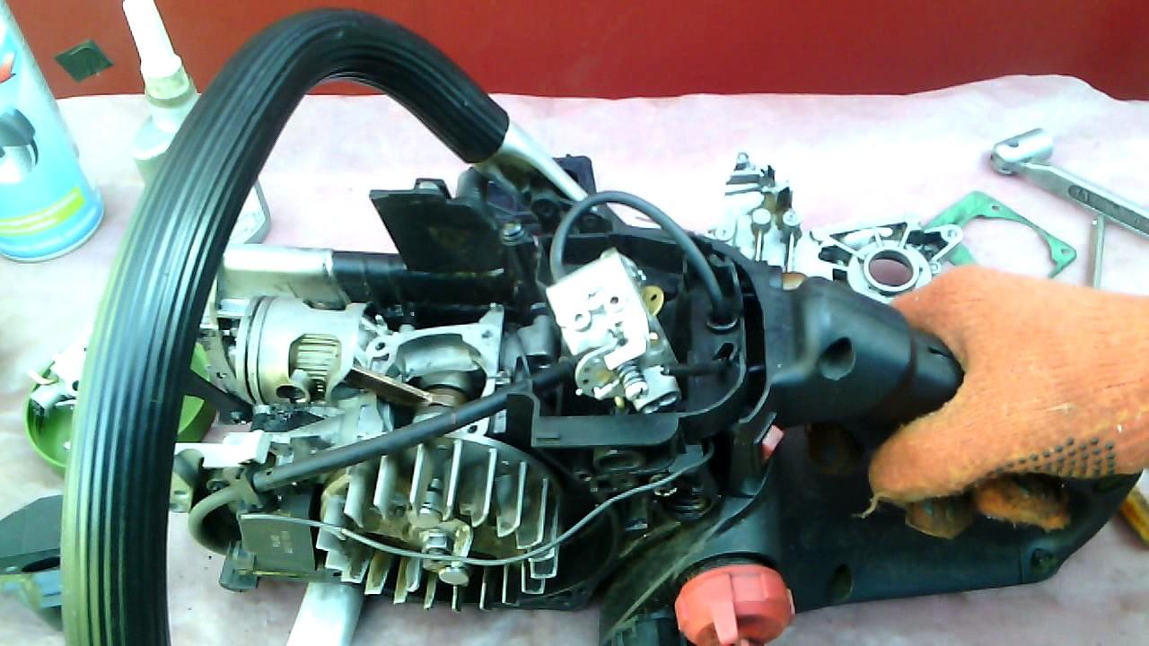 Partner p340s ремонт карбюратора