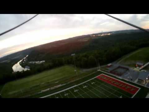 RC Plane flying at University High School, Morgantown, WV. #16 v2 D lens