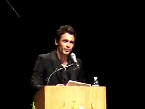 James Franco speech part 1