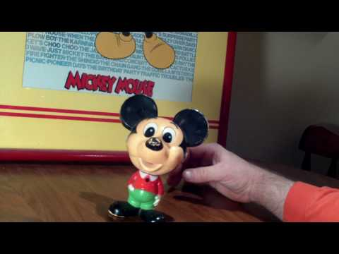 Mickey Mouse Pull String Doll ... OR, Pal Mickey, 1976