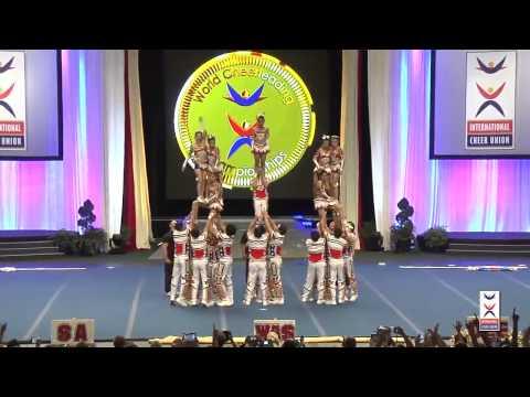 Bangkok university ICU  2014 World Cheerleading Championship
