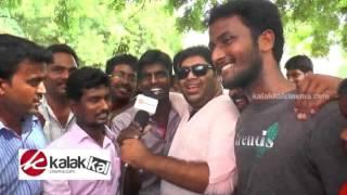Actor Jayam Ravi Fans Celebrate Sakalakala Vallavan Release