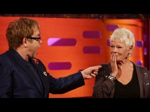 JUDI DENCH & ELTON JOHN Play University Challenge - The Graham Norton Show on BBC AMERICA