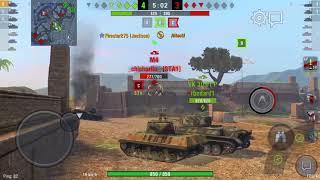World of Tanks Blitz: M36 Jackson Gameplay
