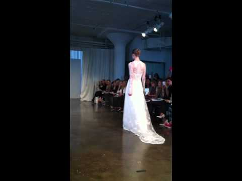 Marchesa Runway Bridal Fashion Show Spring 2014