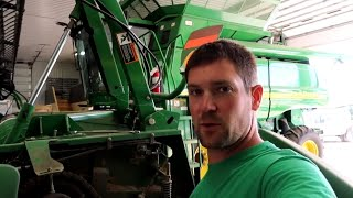 Getting the Combines and Headers Ready for Harvest