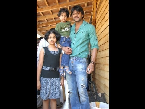 Prabhas rare and unseen pics(rebel star.